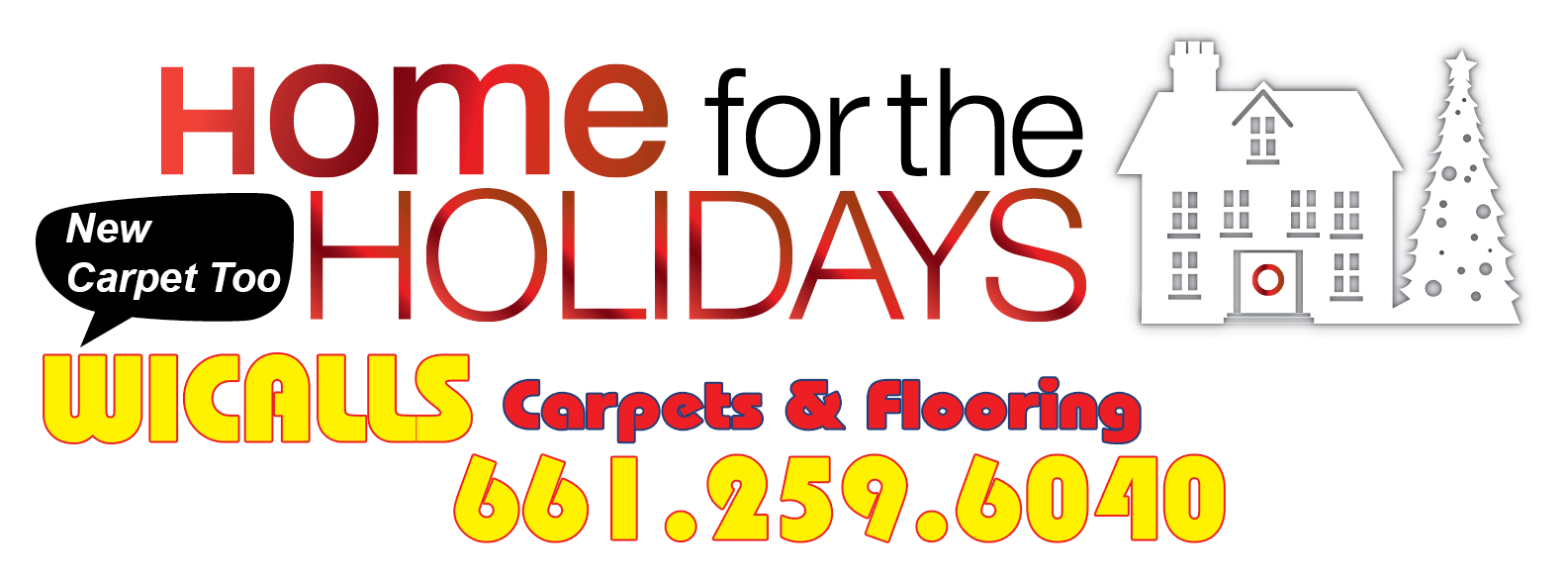 Wicall's Carpets send Best Wishes to our Customers for the Holidays