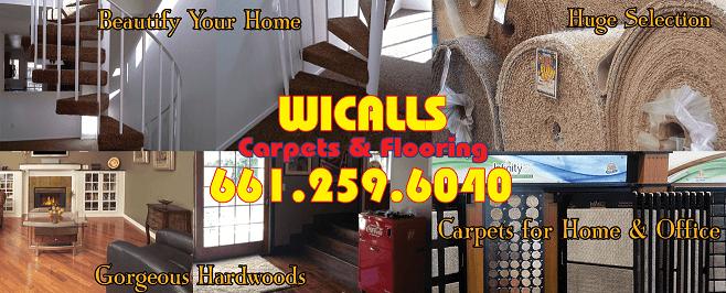 Wicall's Carpets and Flooring, 50 years serving Santa Clarita