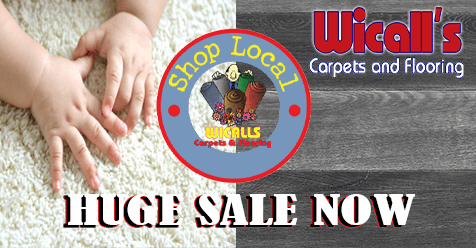Get In On The Huge Sale | Wicall's Carpets & Flooring