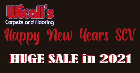 Happy New Years SCV | Wicall's Carpets & Flooring